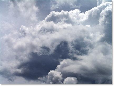 Stormy Mississippi Sky