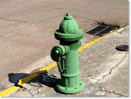 Artistic Fire Hydrant!