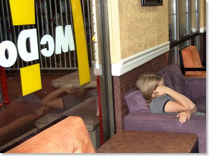 Haley Hiding Her Face