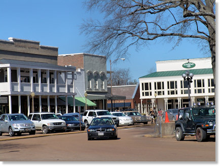 Town Square Oxford Mississippi