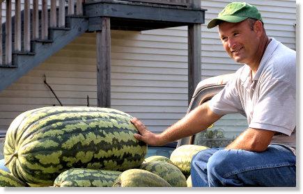 122 Pound Watermelon!
