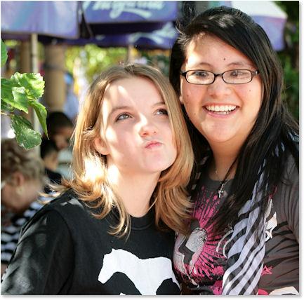 Haley and Jessica