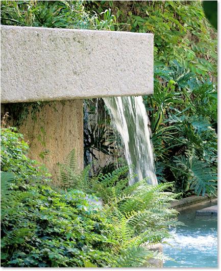 Little Decorative Waterfalls