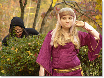 Juliet and the Black Forest Creature