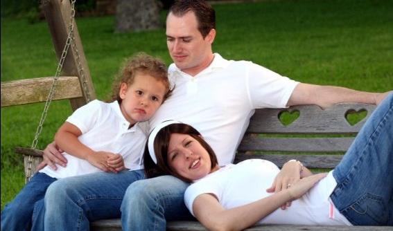 Rachel With Family