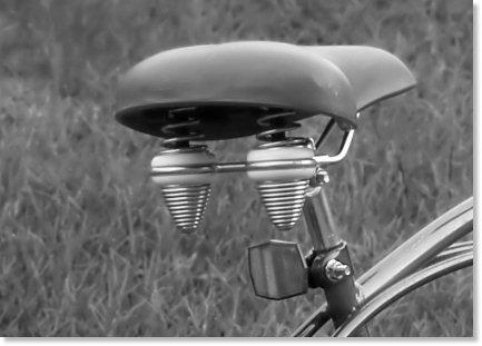 Retro Style Bike Seat
