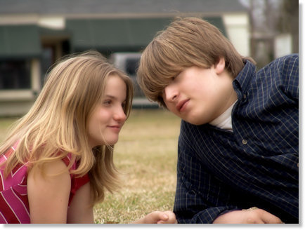 Haley and JJ in the Park (full color)