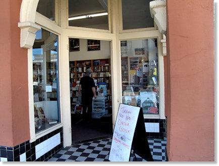 Entrance of Square Books