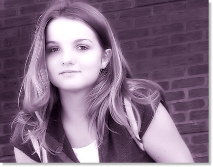 Haley Purple (grin)