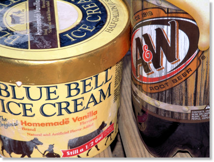 Vanilla Ice Cream and Root Beer