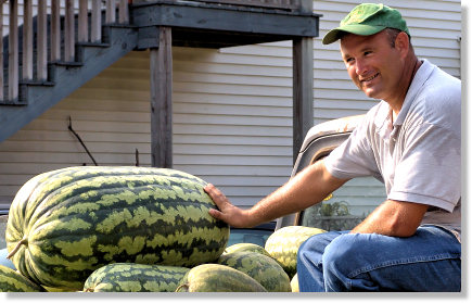 122 Pound Watermelon!