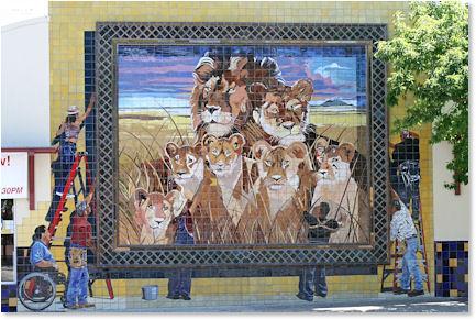 Dowtown San Antonio Mural